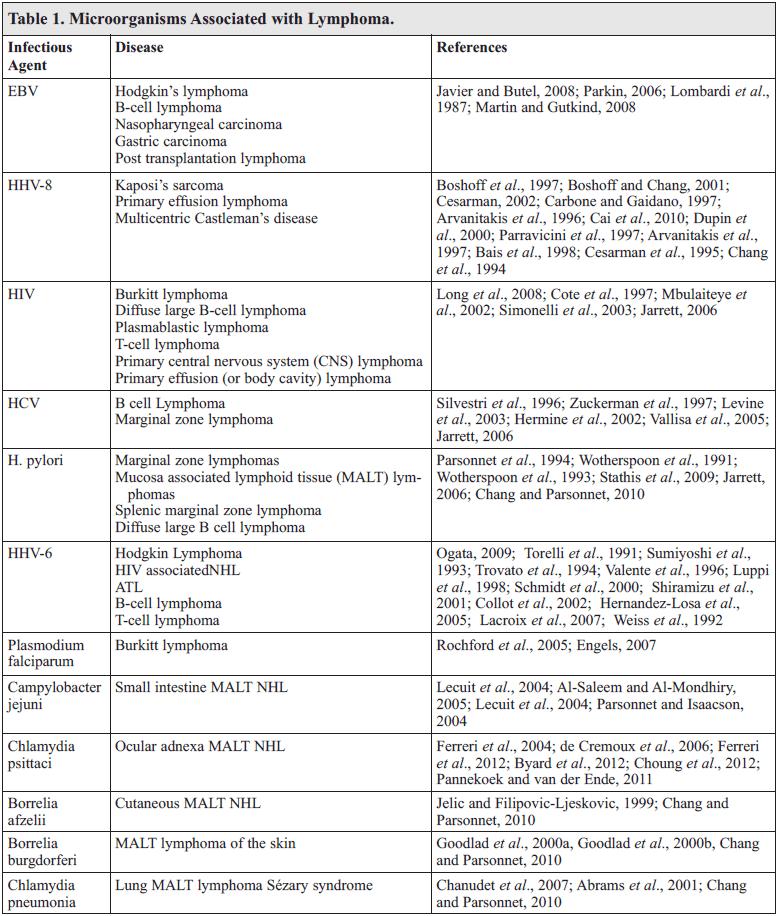Infectious Pathogens and Hematologic Malignancy - Hossein